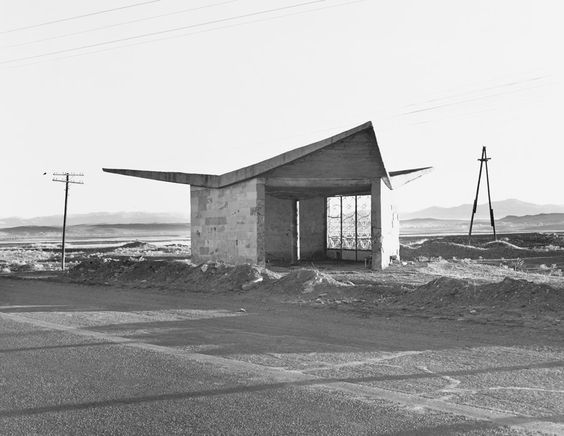 Bus stop in Armenia by Ursula Schulz-Dornburg.