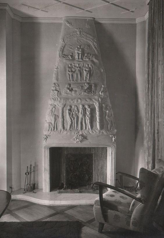 Camino  (chimney) , 1942.
