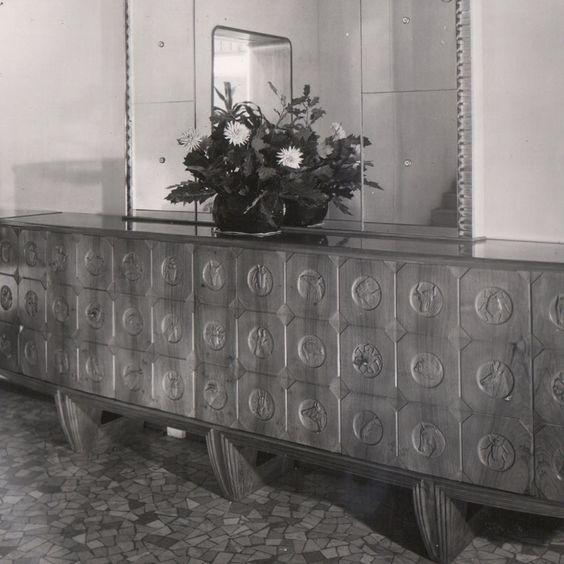 Credenza, 1943.