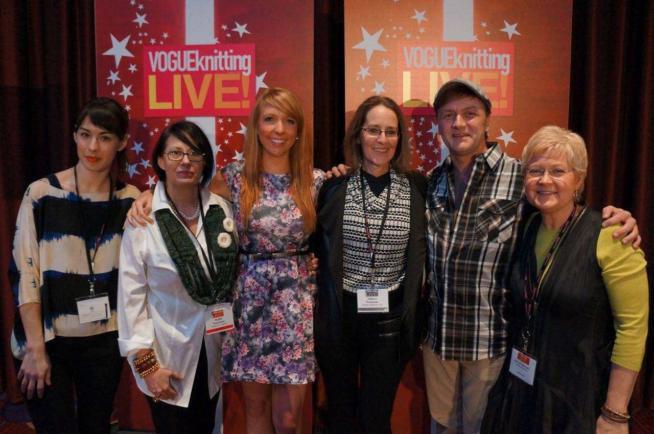Tracy (center) Fiber Factor Finalist