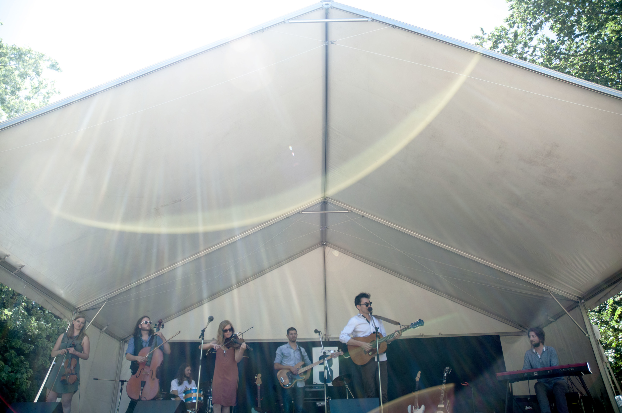 Jasper Sloan Yip @ Vancouver Folk Music Festival Jessica Brodeur Photo