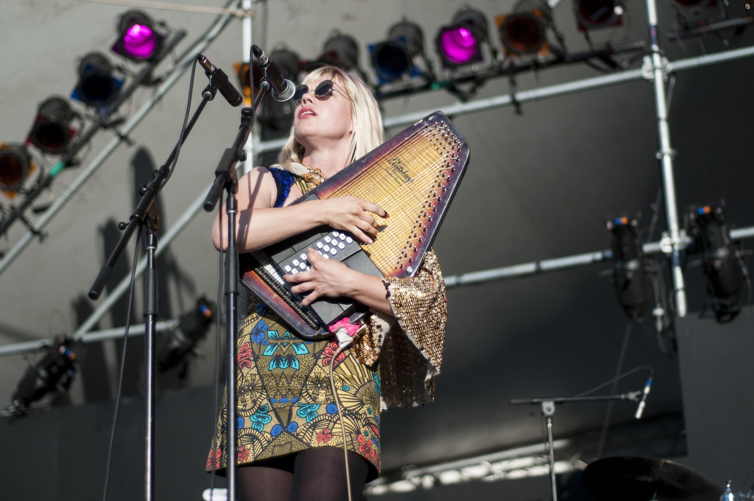 Basia Bulat @ Vancouver Folk Music Festival Jessica Brodeur Photo