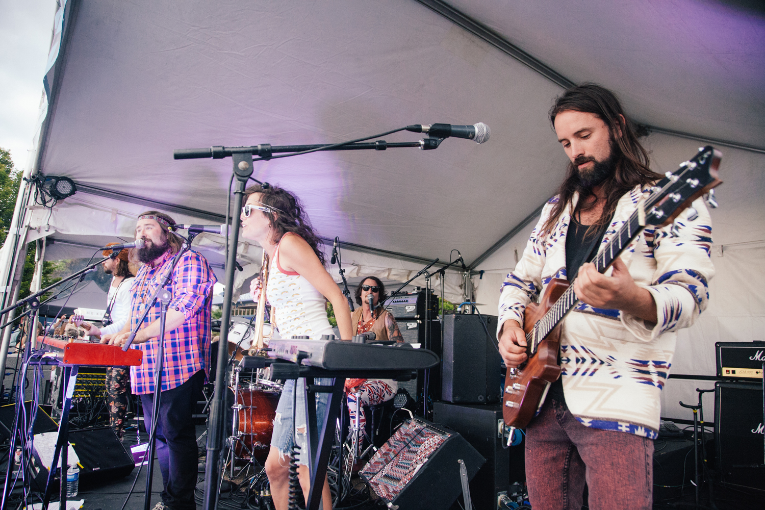 Bend Sinister @ SHOREFEST photo by Christine McAvoy