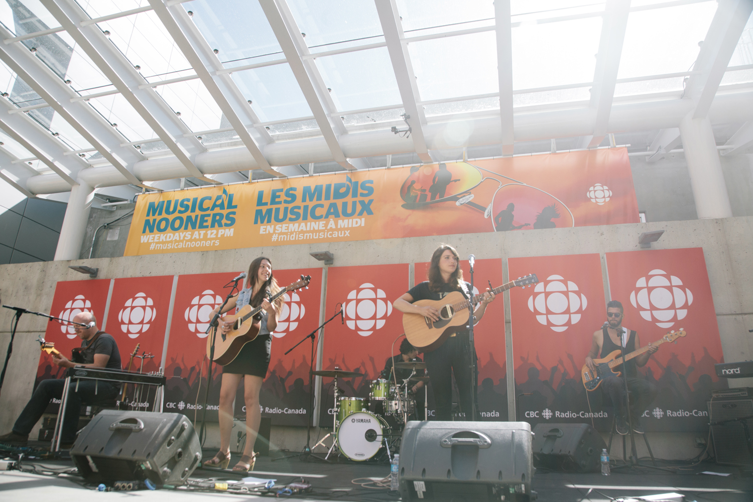 Twin Bandit @ CBC Vancouver photo by Christine McAvoy