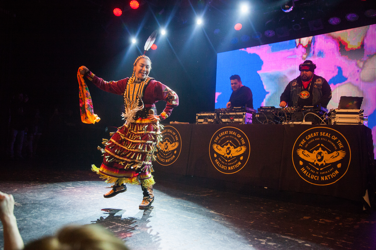 A Tribe Called Red @ Commodore Ballroom  Christine McAvoy Photography