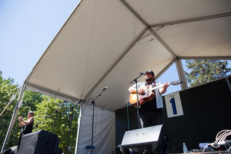 Vancouver Folk Music Festival Donovan Woods Christine McAvoy Photography