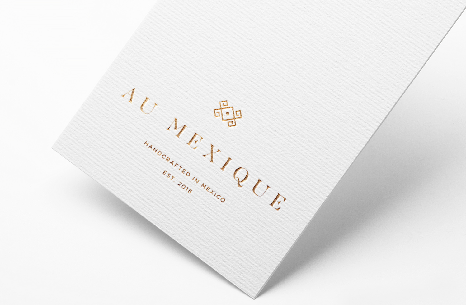 great graphic design mexico branding firm gold foil logo