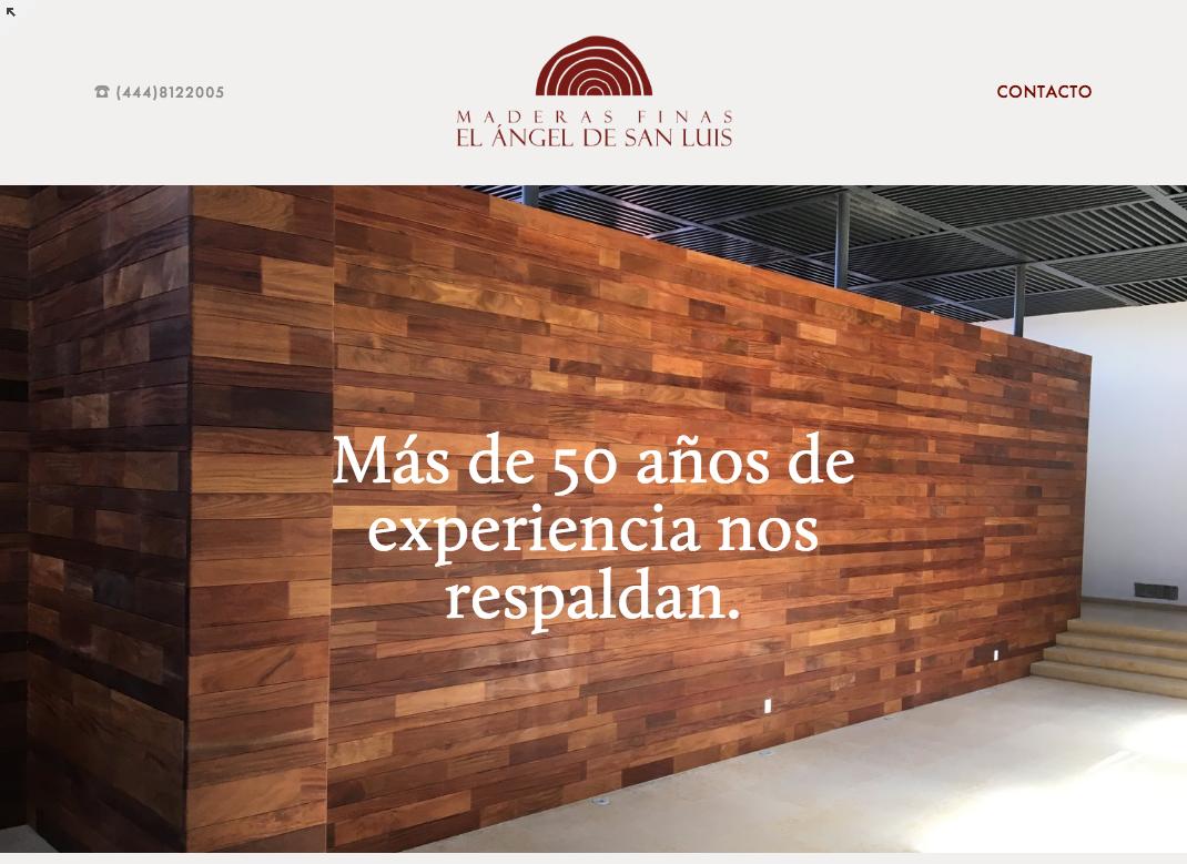 Maderas finas El Angel de San Luis - Fine wood design