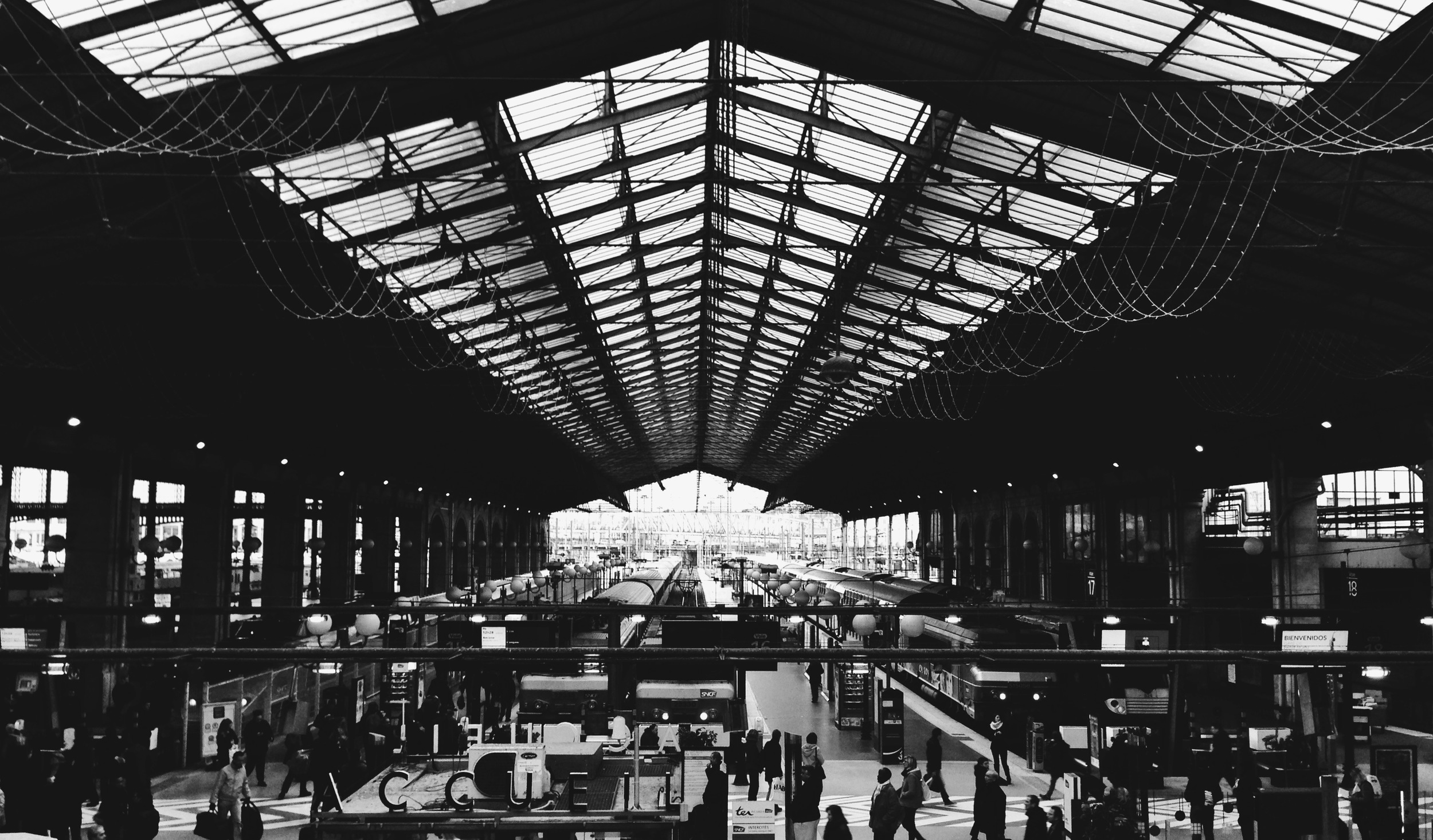 Gare du Nord, Paris, France