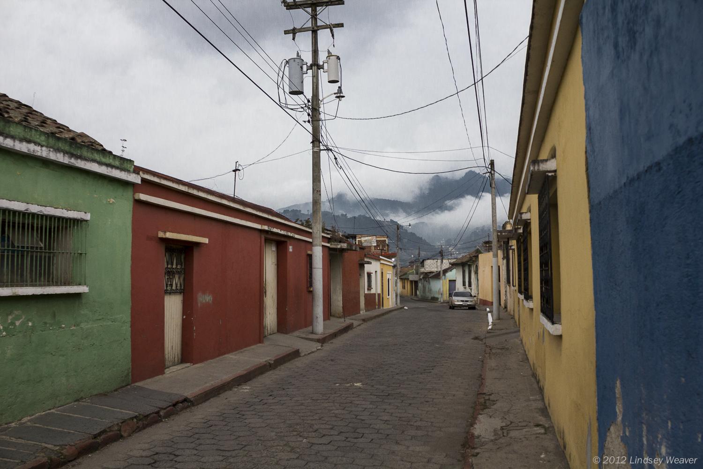 Xela in clouds