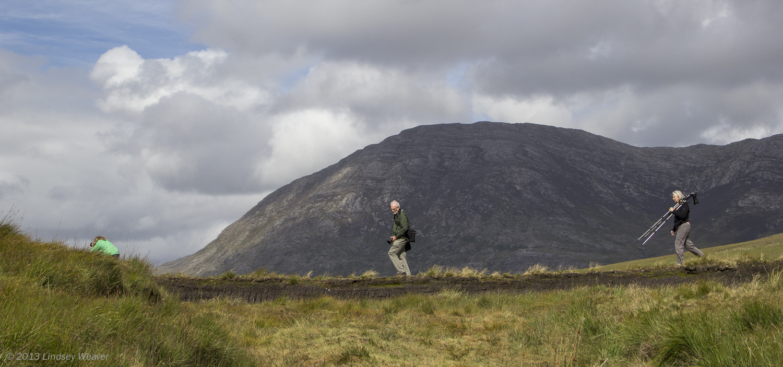 Photographers on the move in Connemara