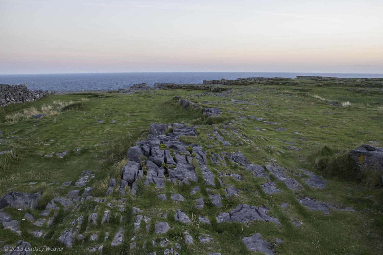 Sunset from Dún Aonghasa