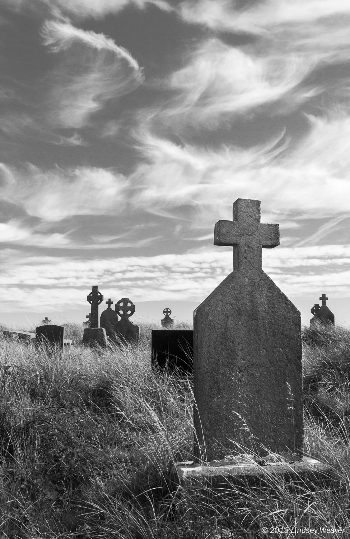 Graveyard at St. Enda's