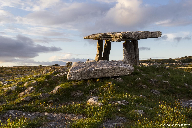 Poulnabrone dolmen IV