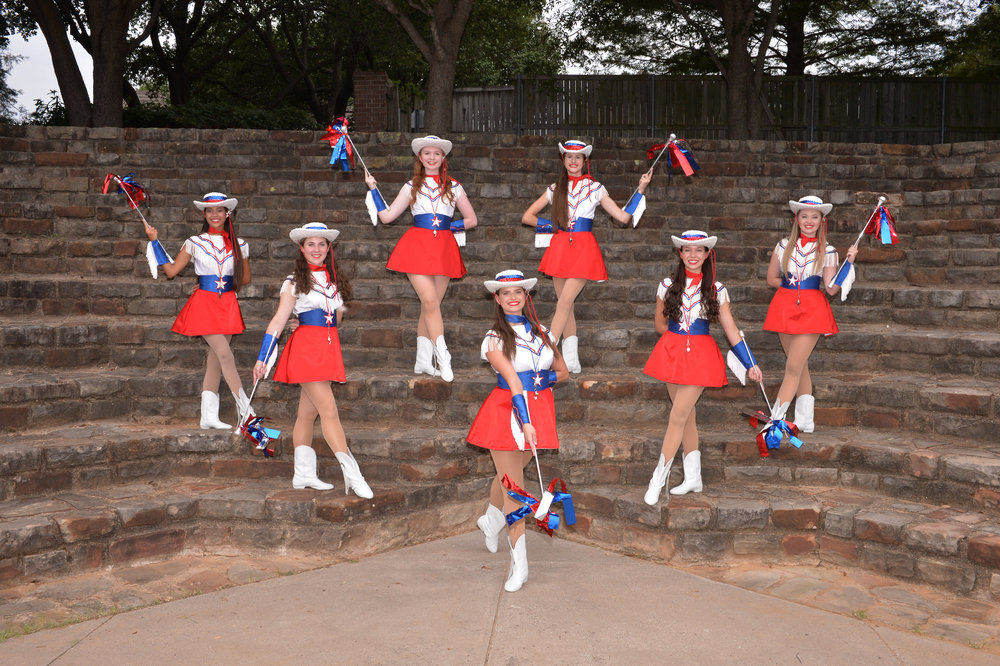 2017-18 Dance Officer s:   Front Row : Alyssa Brown: Captain   Second row : Olivia Nash: Jr. Lt & Carlee Taylor: Sr. Lt.   Third Row : Cate Abrajano: Jr. Lt. & Robin O'Hanlon: Jr. Lt.   Fourth Row : Madison Chadwick: Jr. Lt. & Maddie Cox: Jr. Lt.