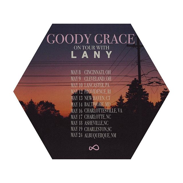 @goodygrace will be going on tour with @thisislany in May! Buy tickets at thisislany.com/tour
