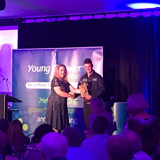 Congratulations to our 2019 winner Alex Ashe #youngfruitgroweroftheyear