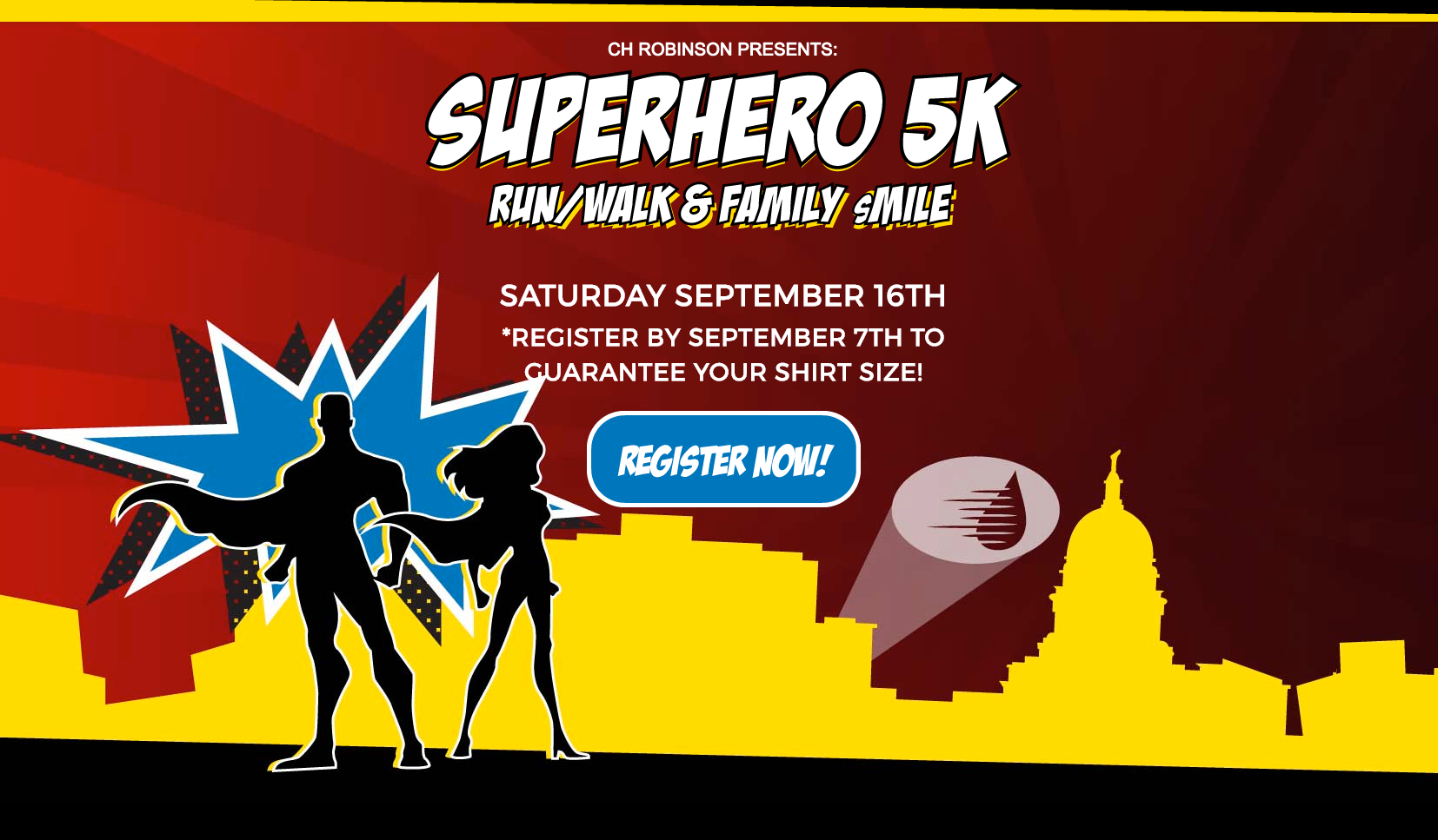 Please come and cheer on the SUPERHEROS! -