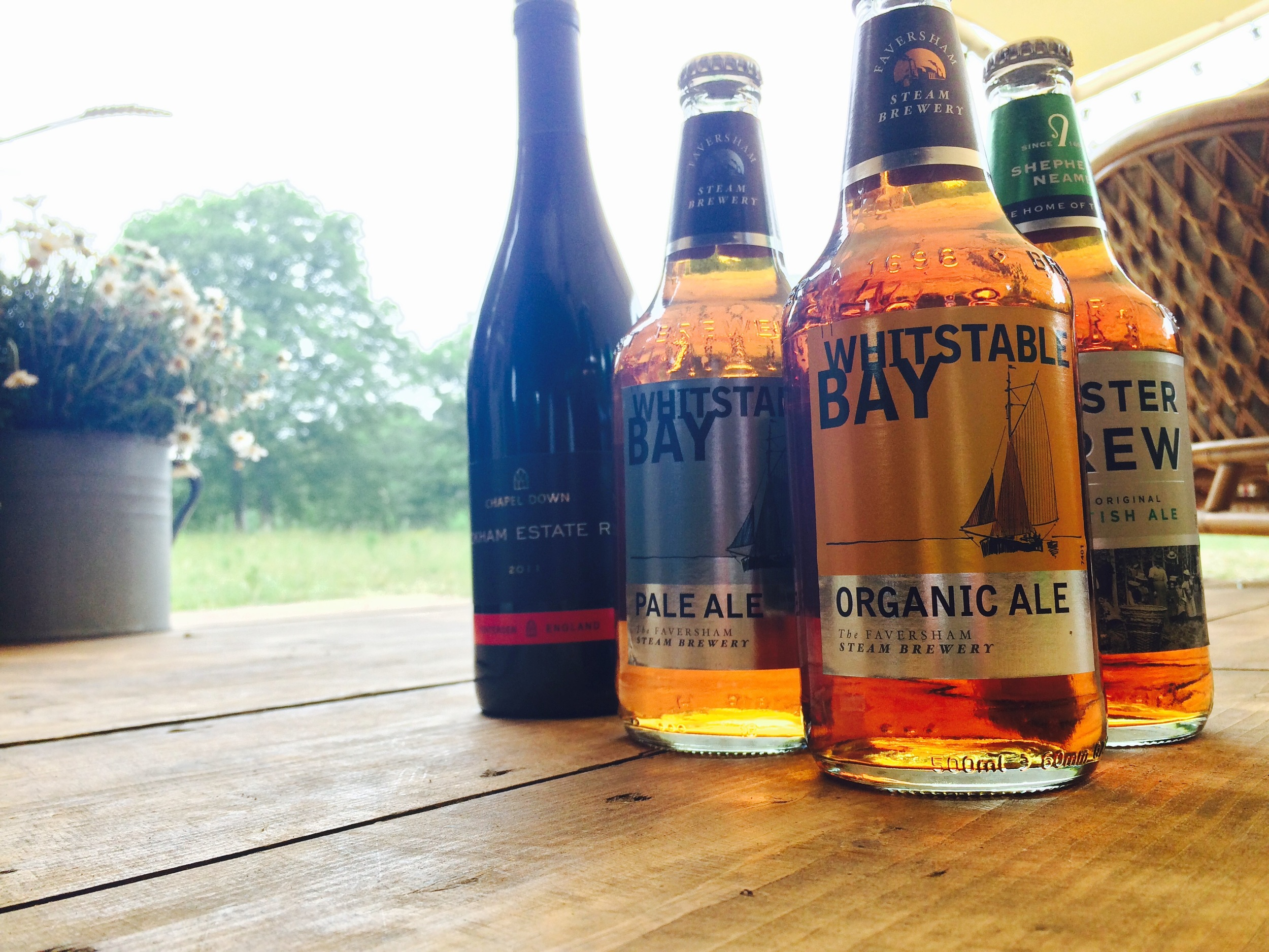 The Kent Mobile Bar Company supporting local producers of beer and wine.