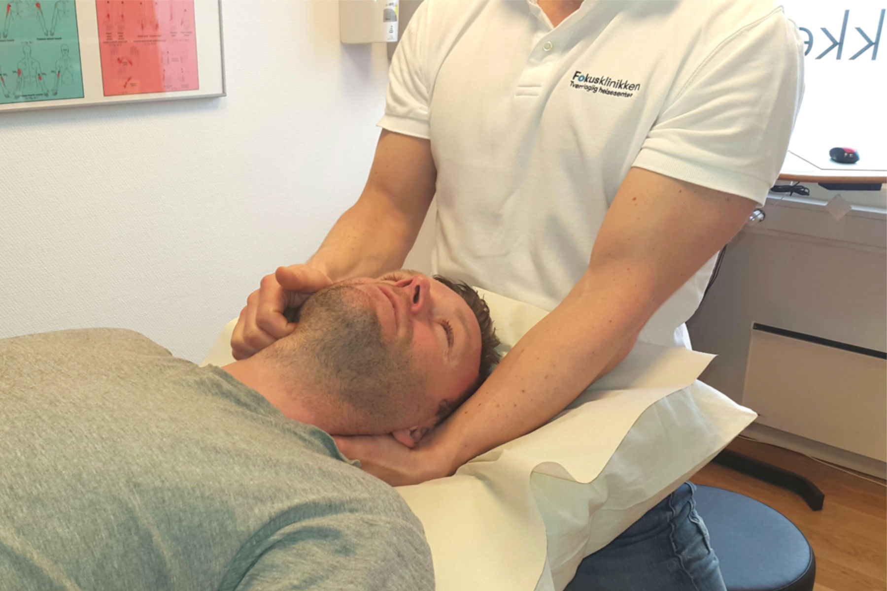 Undersøkelse og behandling av kjeven. FOTO: Fokusklinikken