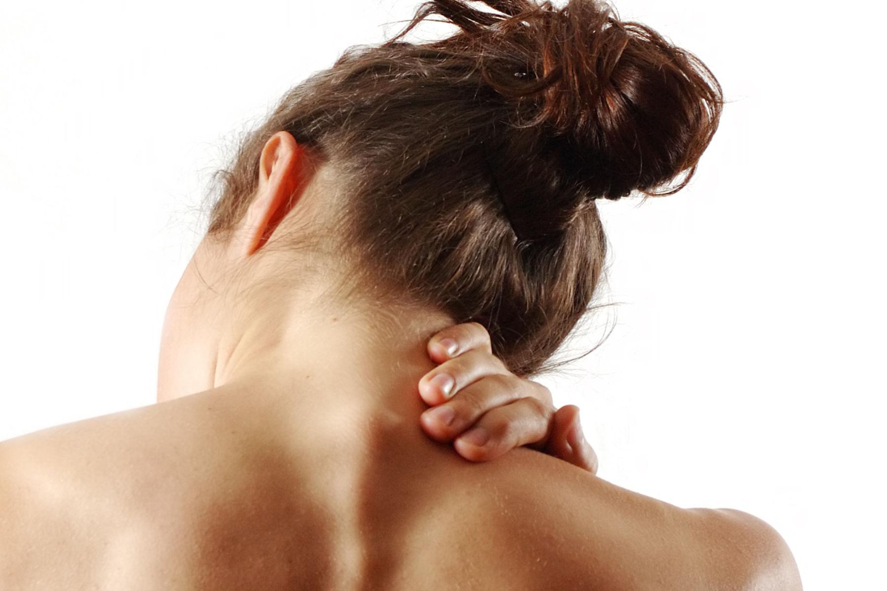 Smerter i nakken er en vanlig tilstand.