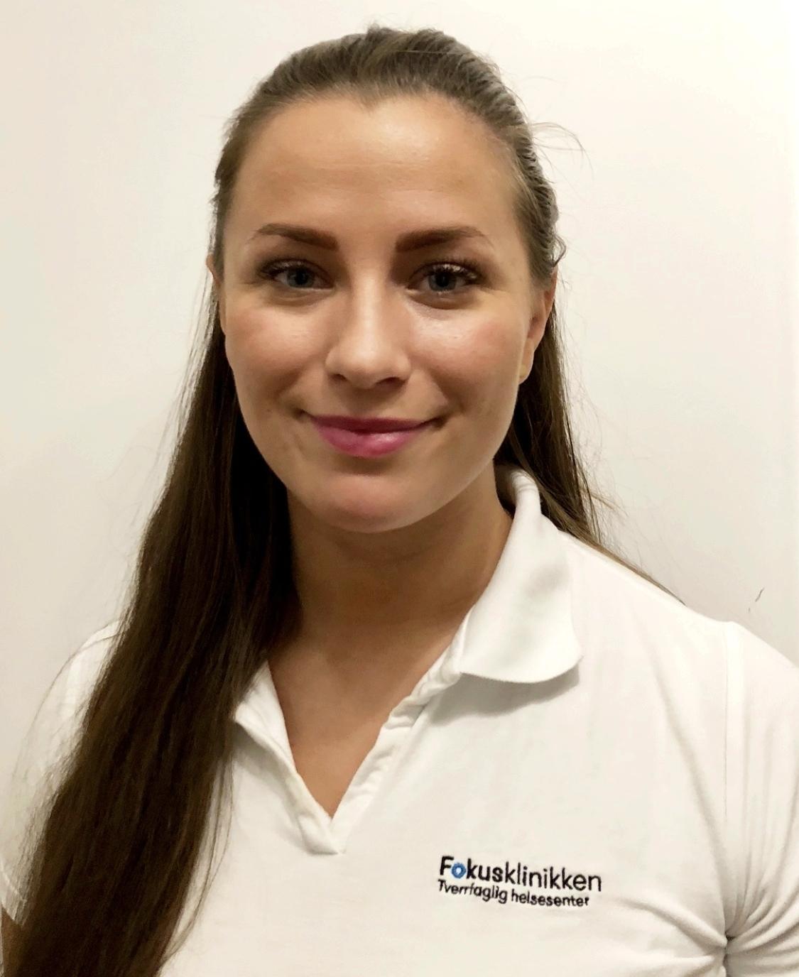 Osteopat Sandra Gavrilov, starter på Fokusklinikken i uke 50. FOTO: Fokusklinikken