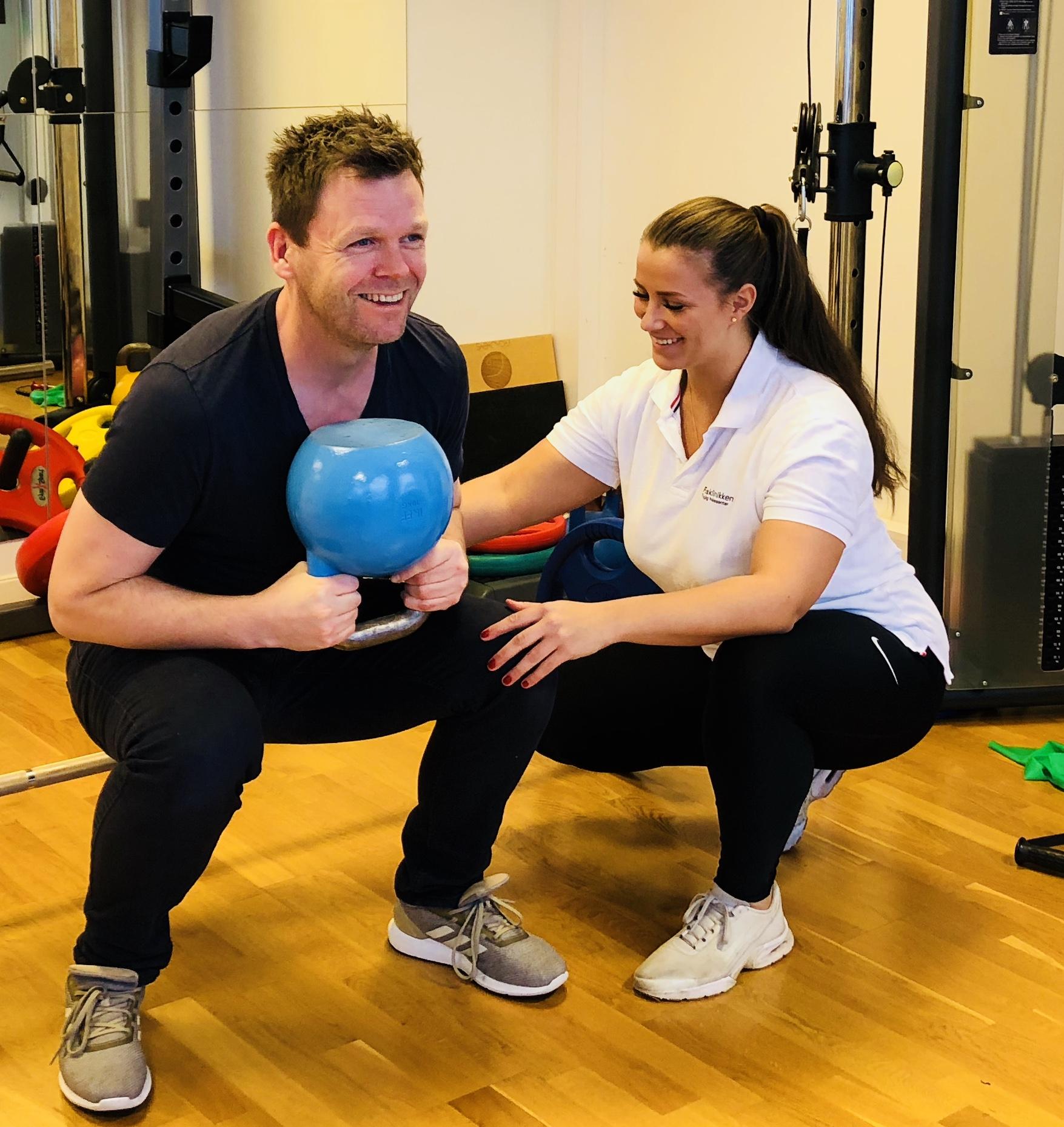 Osteopat, personlig trener og kostholdsveileder Sandra tilbyr vektnedgangsgrupper på Fokusklinikken i april 2019.