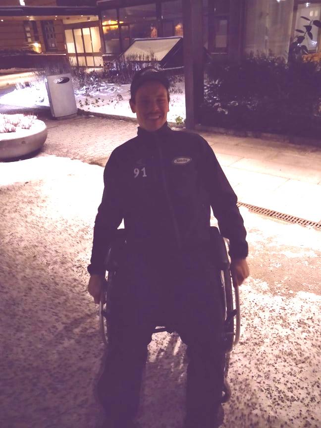 Felix Ljungberg ble tatt ut av spill i flere måneder etter en alvorlig akillesskade.