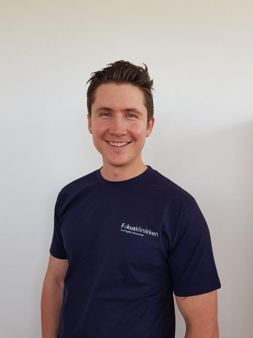 Kiropraktor Kristoffer Sandhaugen starter på Fokusklinikken Økern mandag 22. juli.