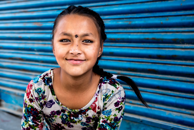Nepalese people are so beautiful - Kathmandu, Nepal.