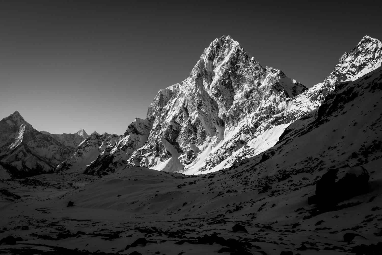 A challenging hike called Cho La Pass from Dzongla to Gokyo - Khumbu Region, Nepal.