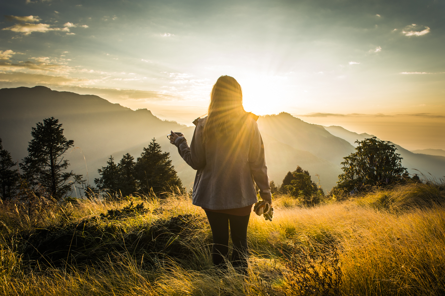 Sunrise at poon hill, Nepal