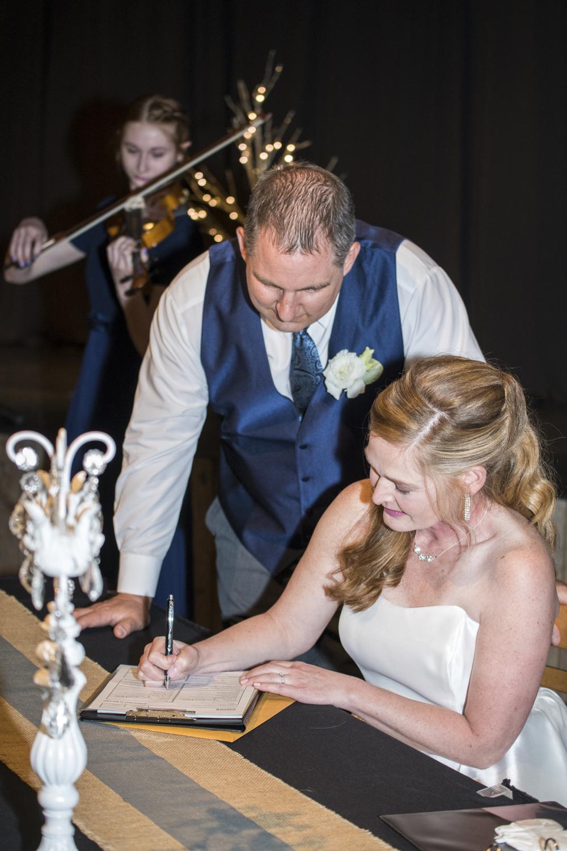 Karen & Todd's canmore wedding