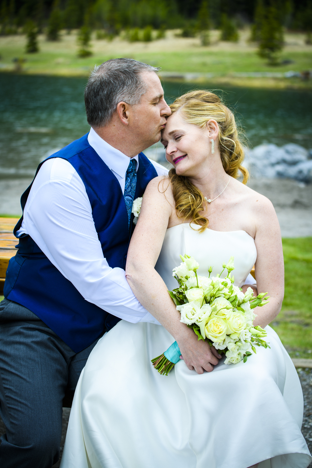 Karen and Todd's canmore wedding