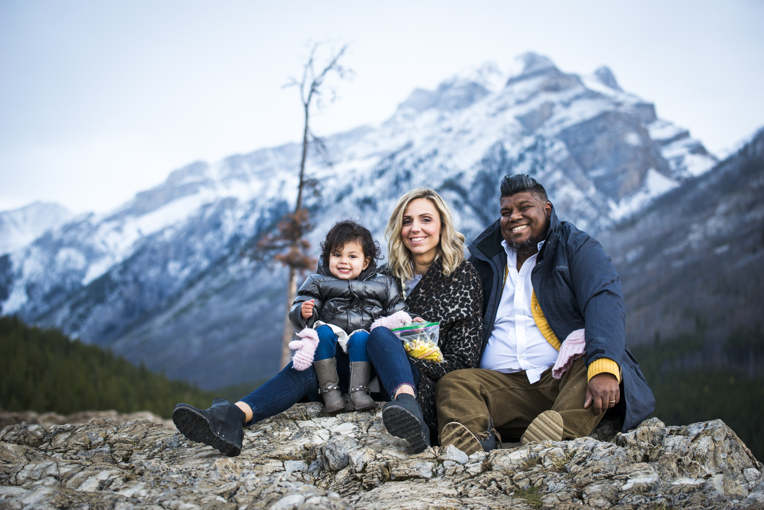 Rachel, Miraj & Charlotte's family photography session
