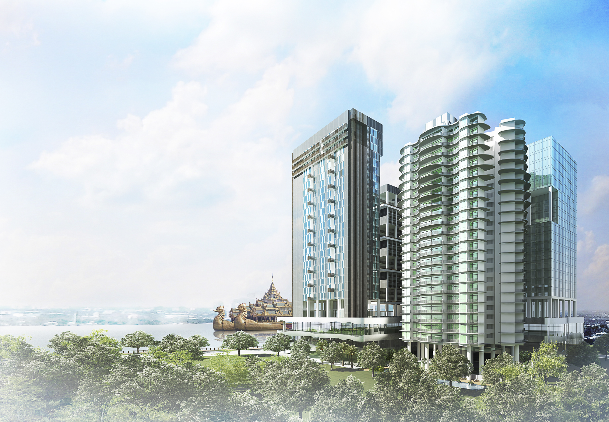 Khantaryar Consortium Tower Exterior 2