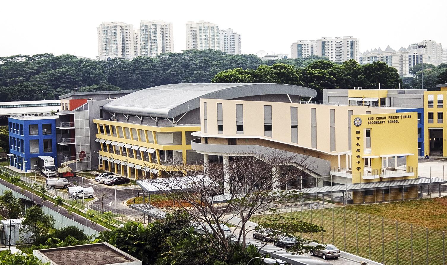 Kuo Chuan Presbyterian Secondary School Exterior 3