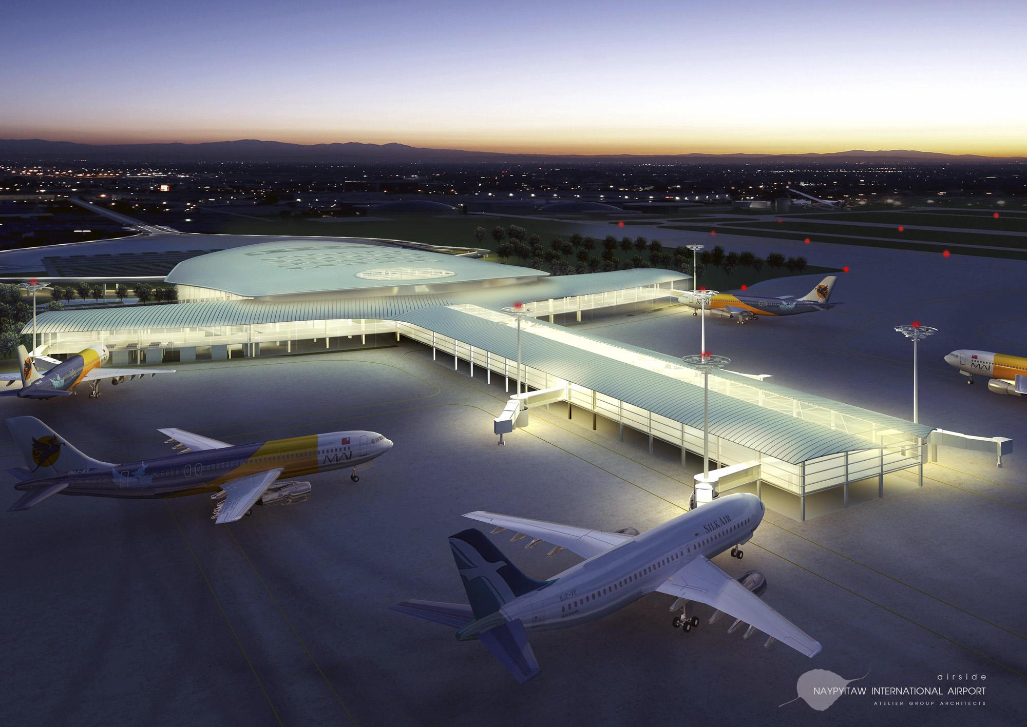 Naypitaw International Airport Exterior 3
