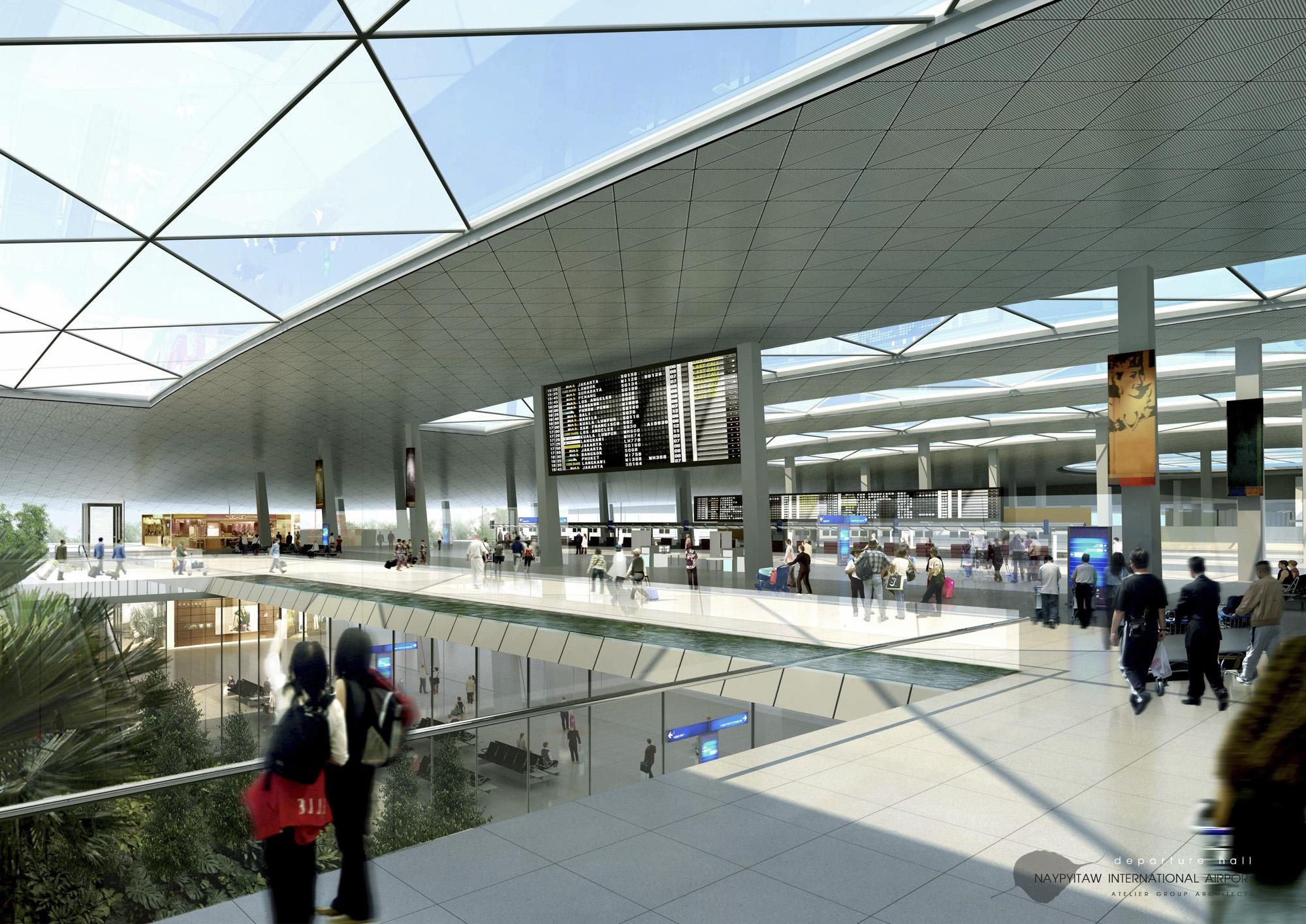Naypitaw International Airport Exterior 4