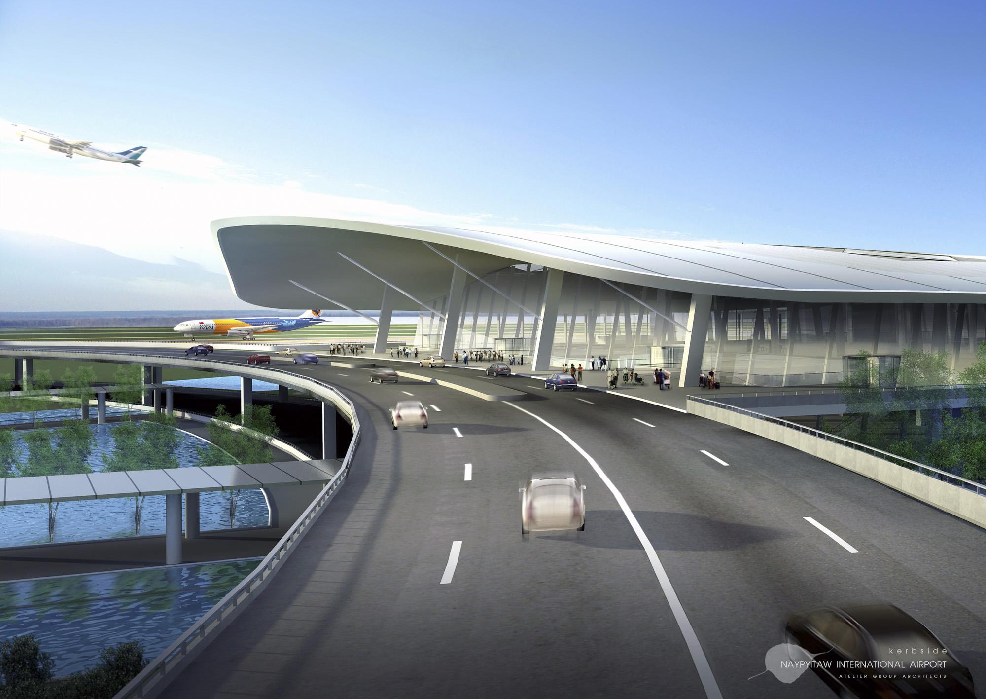 Naypitaw International Airport Exterior 2