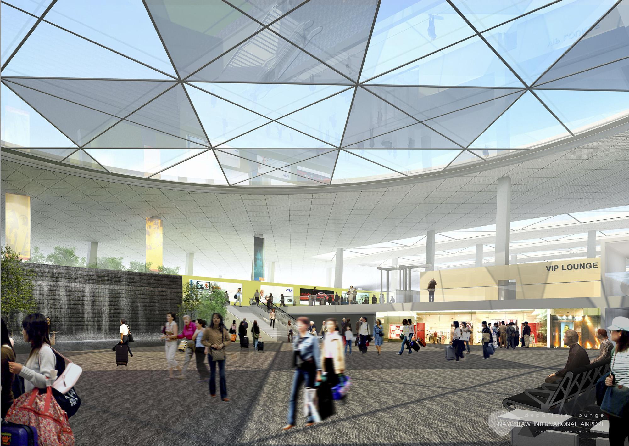 Naypitaw International Airport Exterior 5