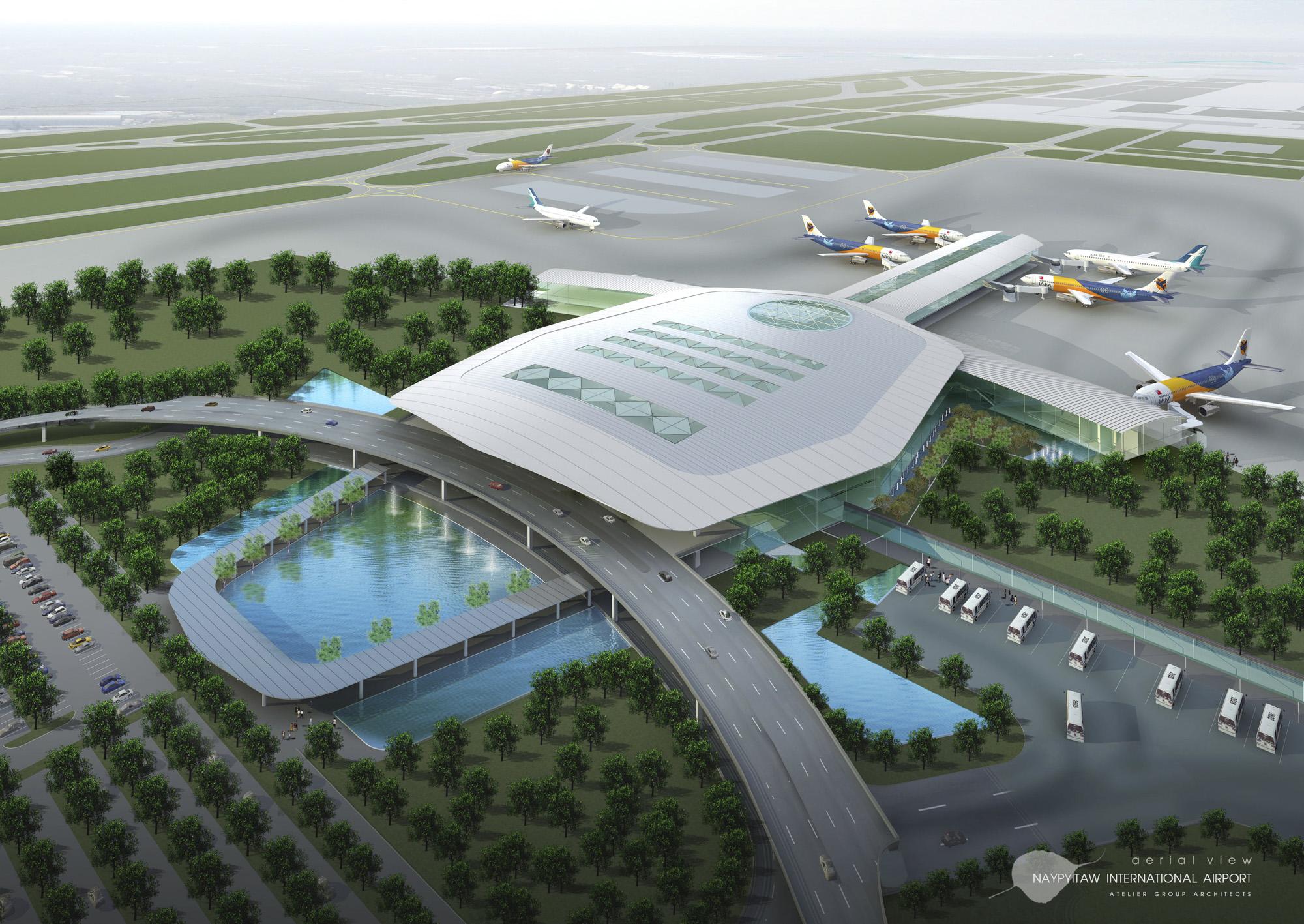 Naypitaw International Airport Exterior 1