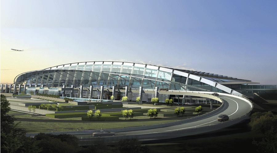 Wuhan TIanhe Airport Terminal 2 Exterior 2