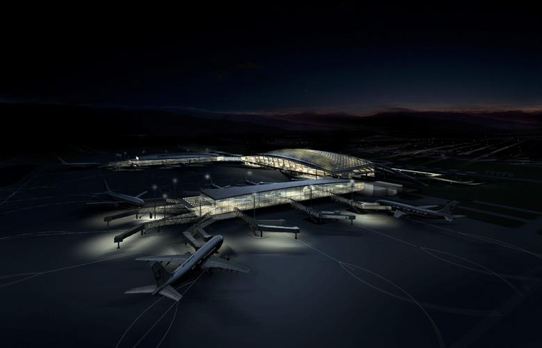 Wuhan TIanhe Airport Terminal 2 Exterior 3