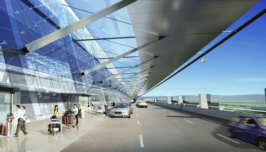 Wuhan TIanhe Airport Terminal 2 Exterior 4