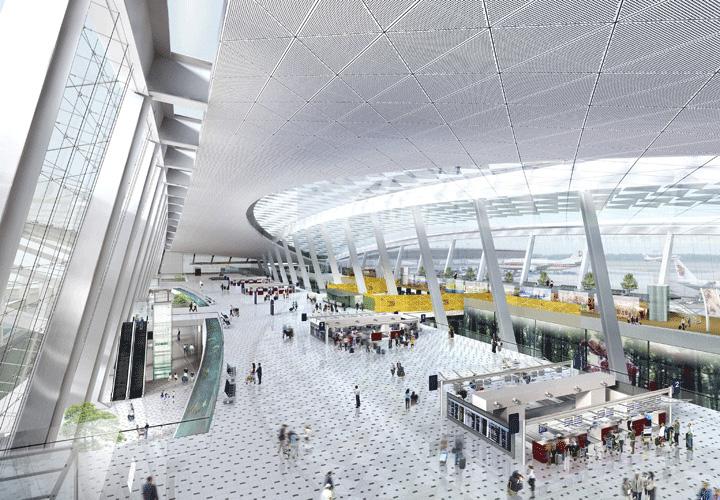 Wuhan TIanhe Airport Terminal 2 Exterior 5