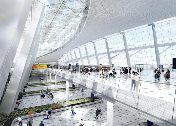 Wuhan TIanhe Airport Terminal 2 Exterior 6