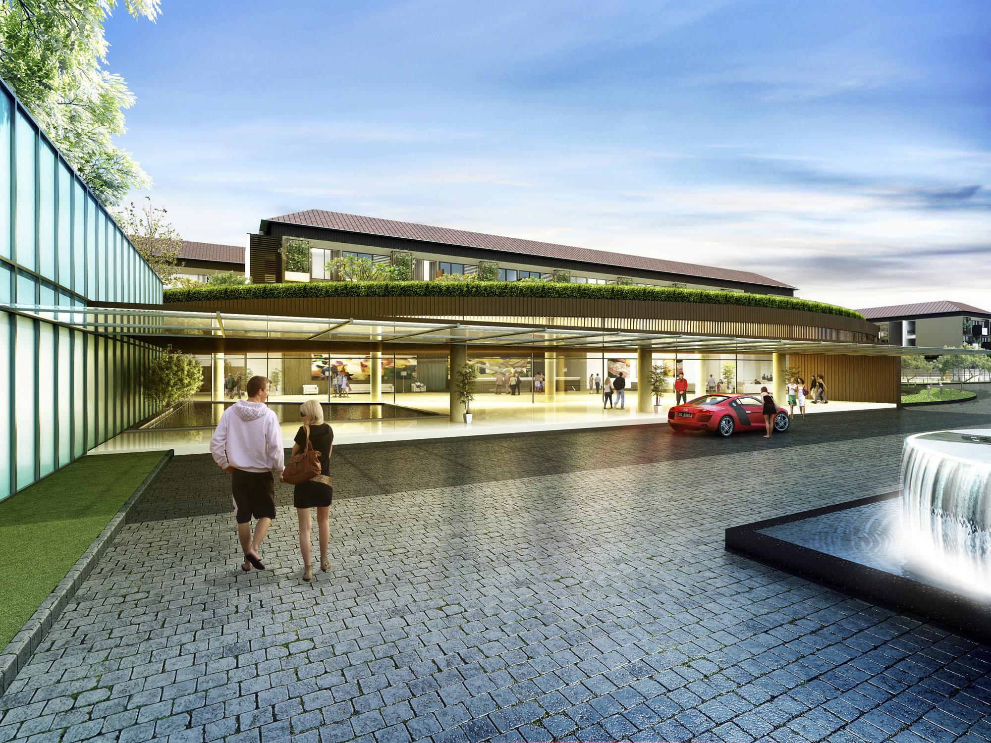 Song Hau Resort Exterior 1