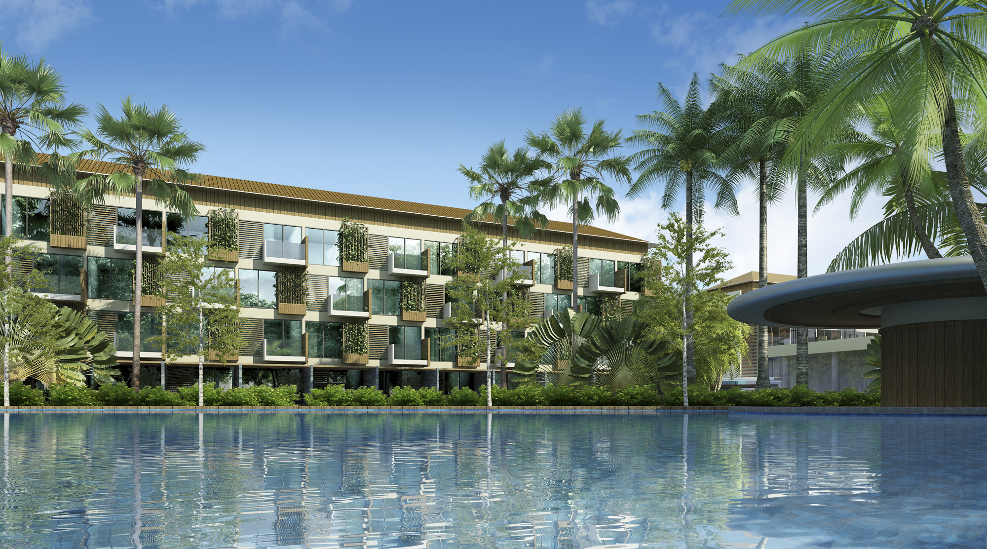 Song Hau Resort Exterior 3