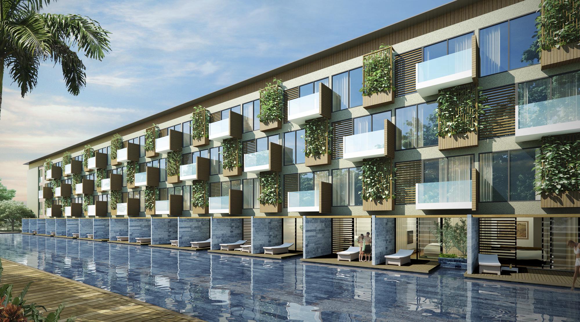 Song Hau Resort Exterior 4